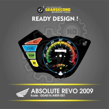 Speedometer Absolute Revo 2009