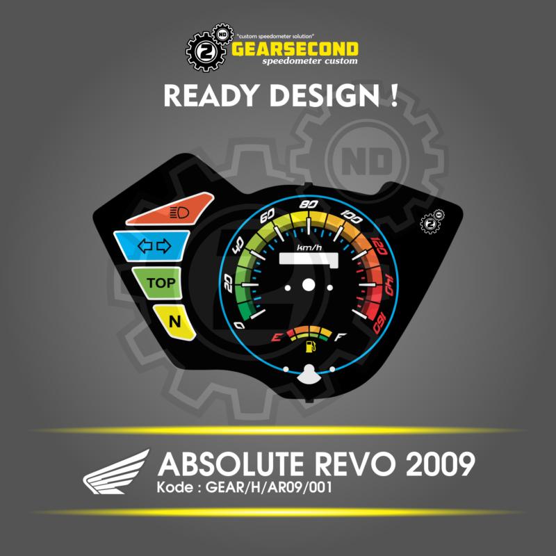 Speedometer Absolute Revo 2009