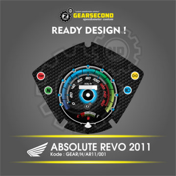Panel Speedometer Honda Absolute Revo 2011
