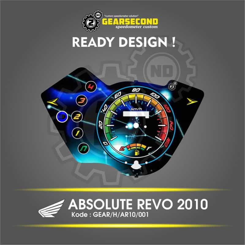 Panel Speedometer Honda Absolute Revo 2010