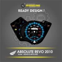 Panel Speedometer Honda Absolute Revo 2010 Kode: GEAR_H_AR_005