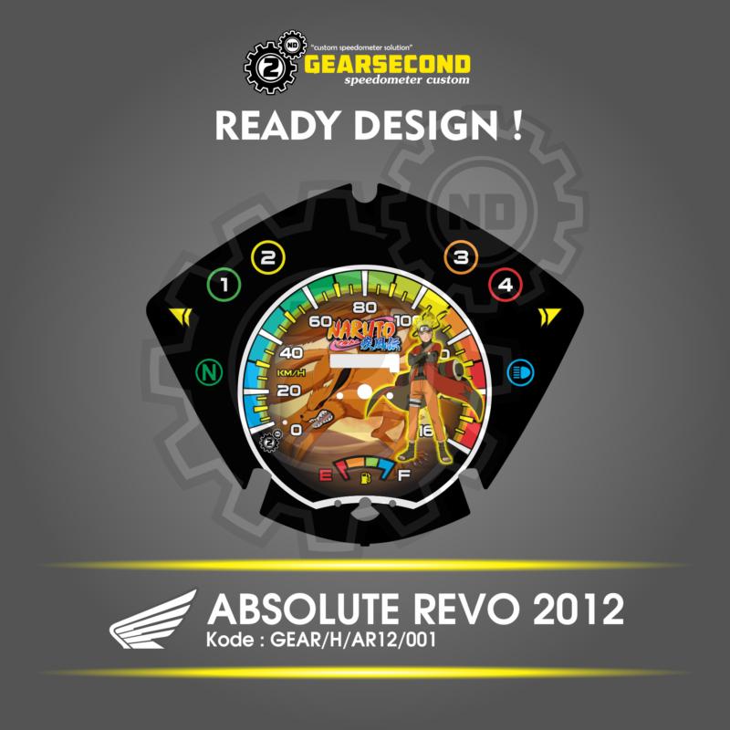 Speedometer Honda ABSOLUTE REVO 2012
