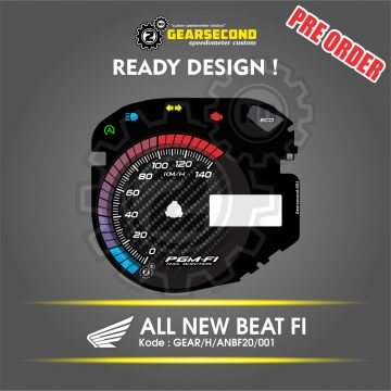 Panel Speedometer Honda All New Beat FI 2020