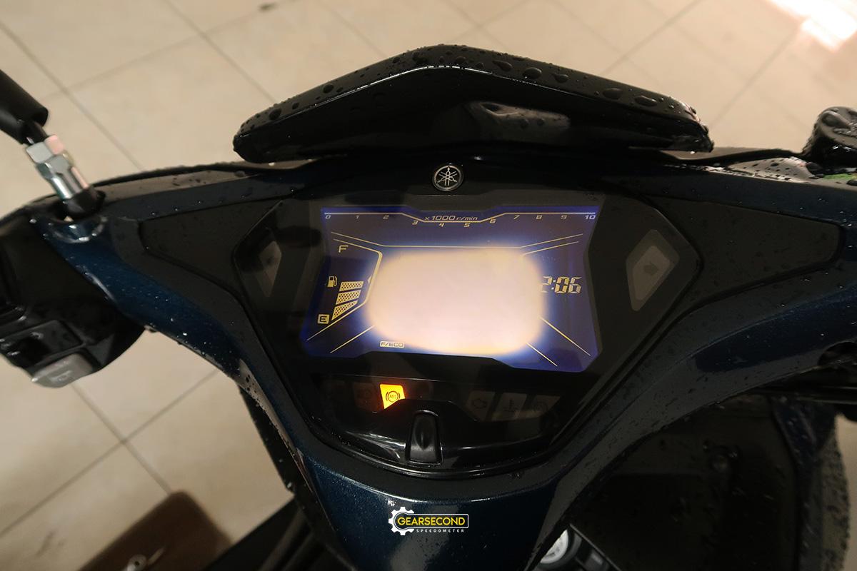 speedometer aerox sunburn