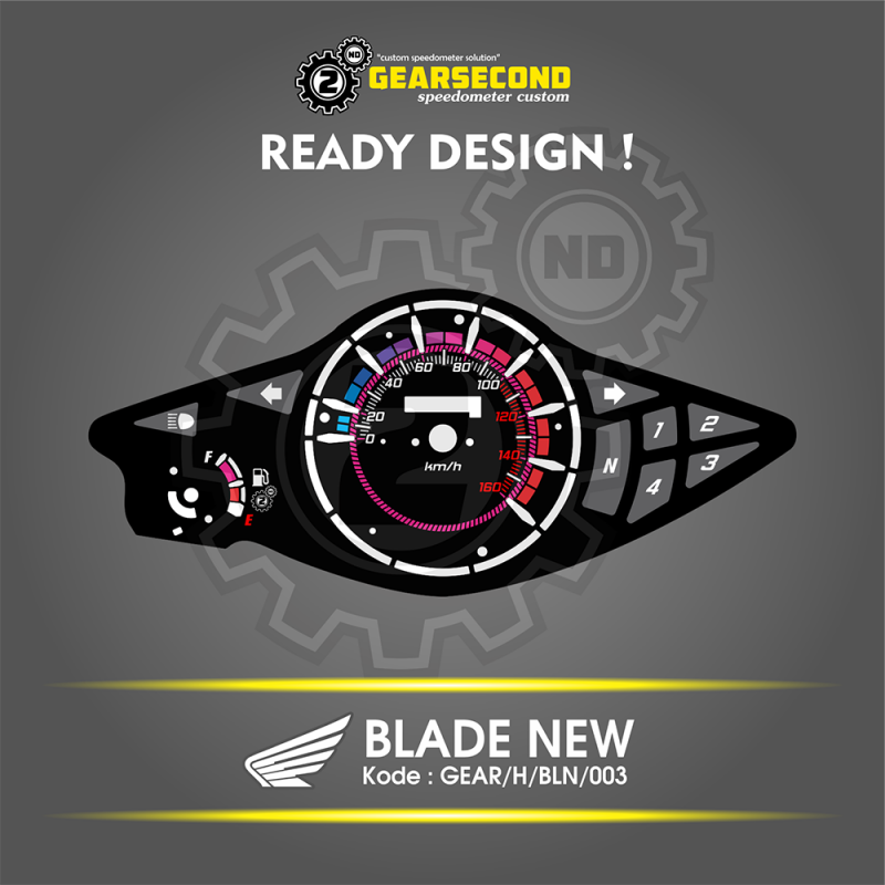 panel speedometer blade new