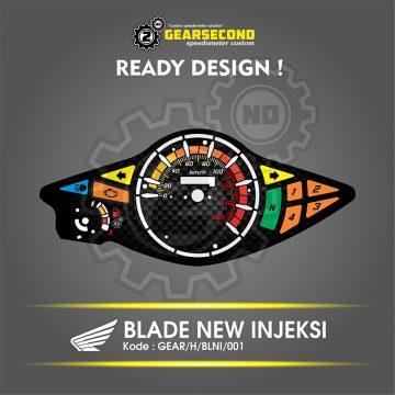 Panel Speedometer Blade New Injeksi