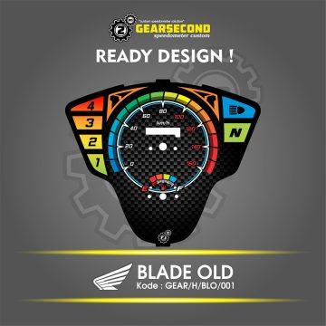 Panel Speedometer Blade Old