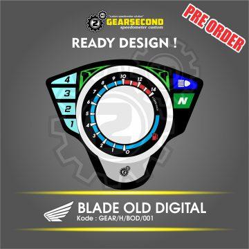 Panel Speedometer Blade Old Digital