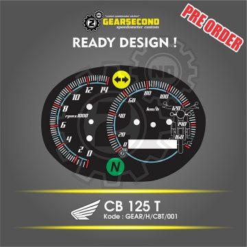 panel speedometer cb twincam