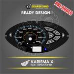 Panel Speedometer Karisma X