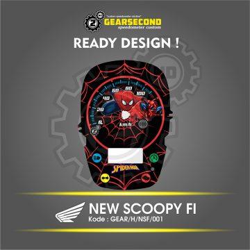 Panel Speedometer Scoopy ESP