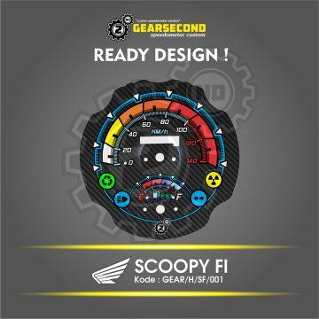 panel speedometer scoopy fi