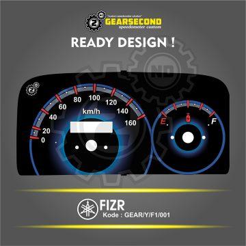 Panel Speedometer F1ZR